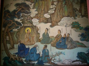 -Changchun-Temple-Master-and-disciples-painting-0316